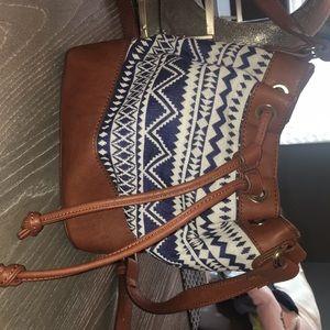 Handbags - Aztec shoulder bag